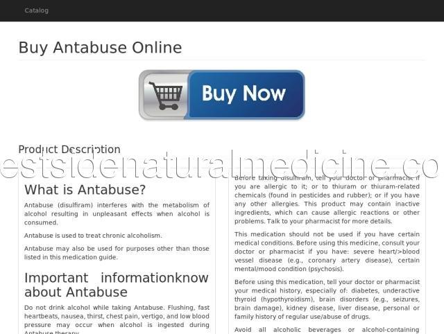 Antabuse canada generic