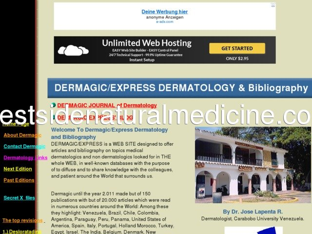 DERMAGIC EXPRESS Dermatology and Bibliography